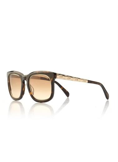 Emilio Pucci  Ep 0021 52F Kadın Güneş Gözlüğü Kahve